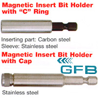 Magnetic Bit Holder; Socket Adaptor; Socket Extension